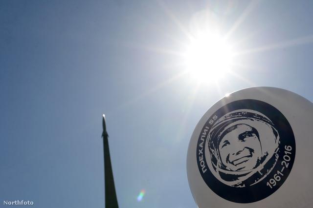 2016-ban lufival is emlékeztek Oroszországban arra, hogy Gagarin már 55 éve járt először az űrben