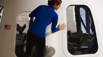 Minden jegy ablak mellé szól a New Shepard űrhajón