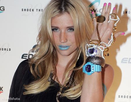 Kesha bemutatja az új G-Shock órákat