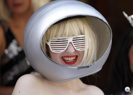 A győztes Gaga- hasonmás mindent megtett a siker érdekében.