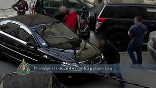Valahogy így zajlik egy összehangolt elfogás Budapesten