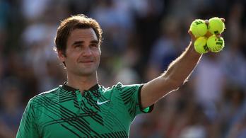 Federer lehetetlen nyesése nem lett volna elég a győzelemhez
