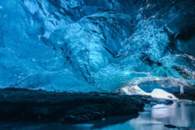 skaftafell barlang lead