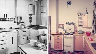 Ennyit változtak a konyhák az elmúlt 100 évben!