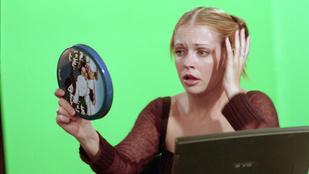 Sabrina, a tiniboszorkány bizony gyengéd érzelmeket táplált Ryan Reynolds iránt
