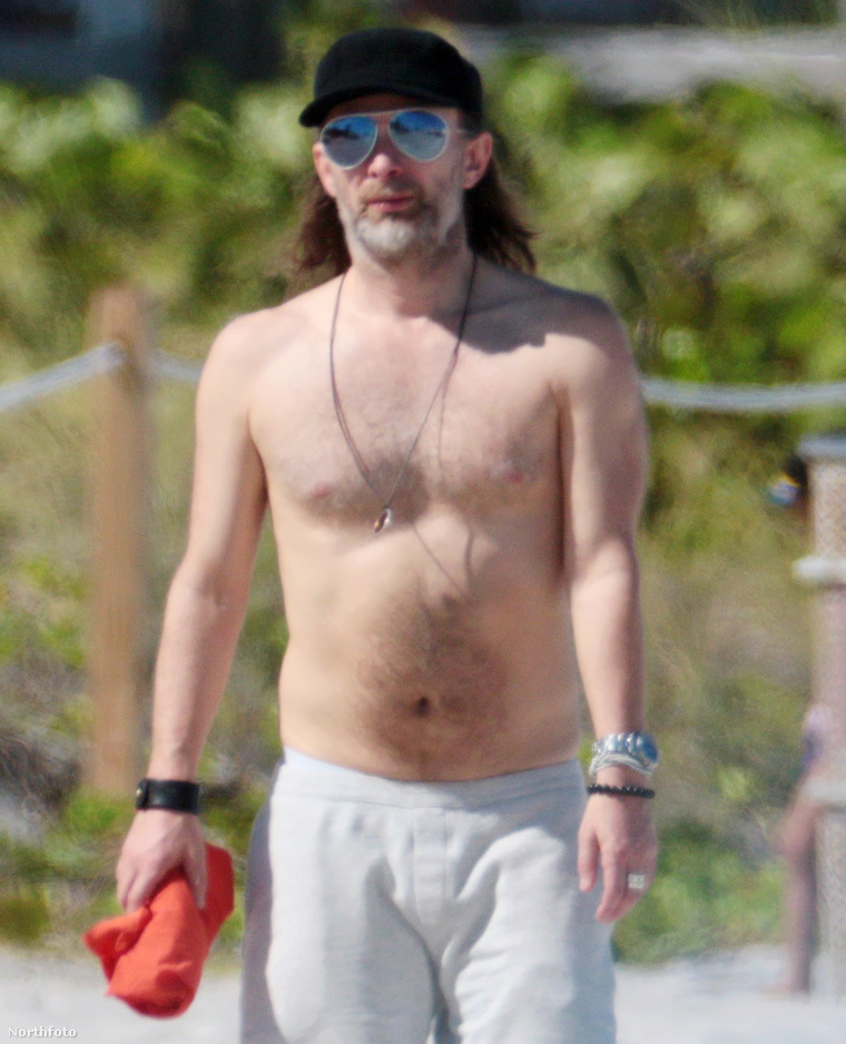 Thom Yorke az, a Radiohead frontembere.