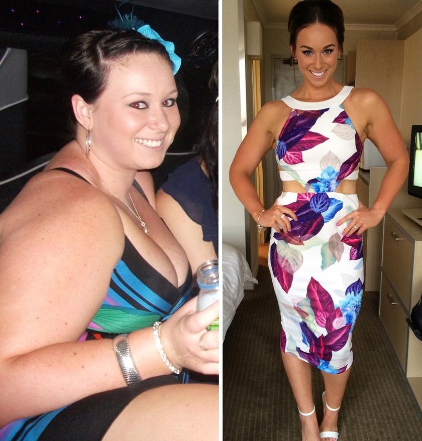 Kate Writer egy év alatt 50 kilogrammot fogyott. Kiiktatta a feldolgozott ételeket, majd az 1200 kalóriás diétát választotta. Most rendszeres sporttal az izomépítésen dolgozik.