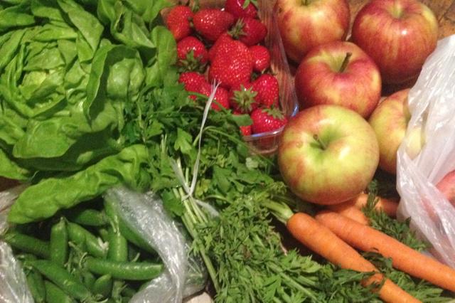 zöldségkosár