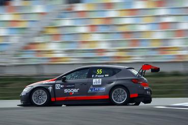 A Zele Racingnél vendégeskedő Ficza Ferenc sokáig a leggyorsabb volt, végül a harmadik helyről indulhat