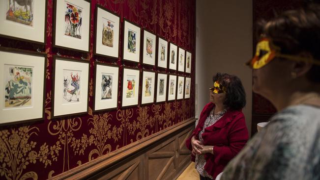 Dalí-kiállítás nyílt Pápán