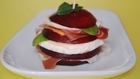 Sonkás-nektarinos saláta