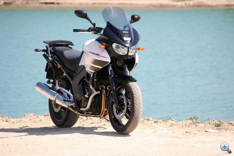 Első tesztmotorom, a Yamaha TDM 900