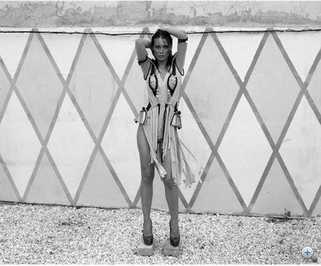 Ruha: Bódis Boglárka - Krea, cipő: Yves Saint Laurent - Heaven