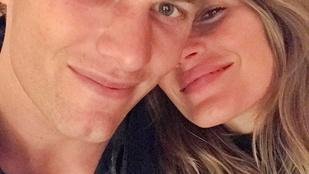 Gisele Bündchen és Tom Brady boldogságára még nem találták ki a megfelelő jelzőt