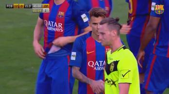 Bunda lehetett a Barca B 12 gólos győzelme