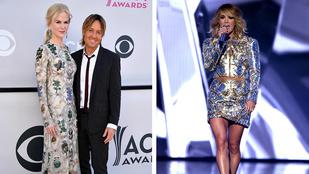 Alexander McQueenben mulatott Nicole Kidman az ACM-díjátadón