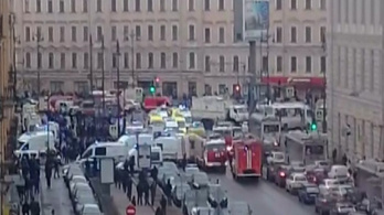 Kilenc halott a szentpétervári metrómerényletben