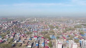 Gigavárost húznak fel Peking mellé