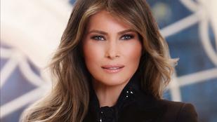 Felkerült a Fehér Ház oldalára Melania Trump First Lady fotója
