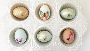 8 alternatívát mutatunk tojásfestésre