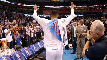 Westbrook megcsinálta a lehetetlent, legendás rekordot állított be