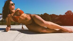 Ennek a bikinimodellnek több köze van a bombázókhoz, mint elsőre gondolná