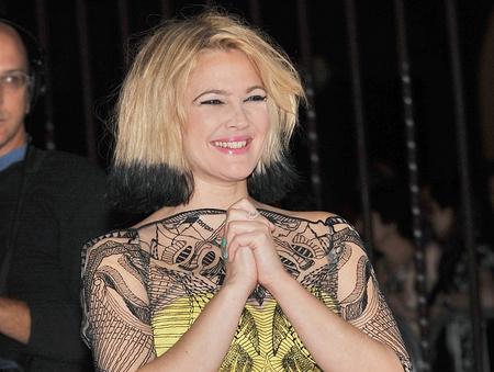 Drew Barrymore a Torontói Nemzetközi Filmfesztiválon