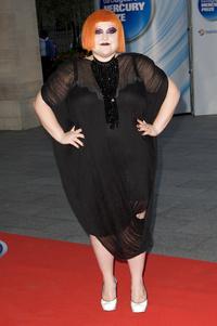 2009. szeptember. Beth Ditto a Mercury Music Awards gálán