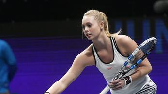 Szenzációs magyar teniszsiker a charlestoni tornán