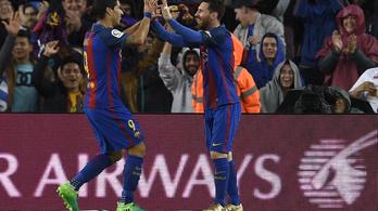 Kivették a féket, pompás gólokkal robog a Barca