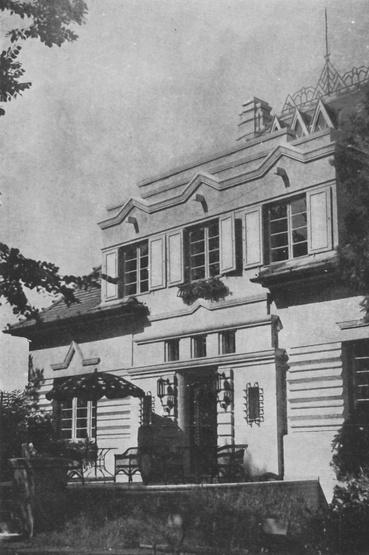 Debrecen, Simonyi út 8., dr. Geiger Pál villája, 1929