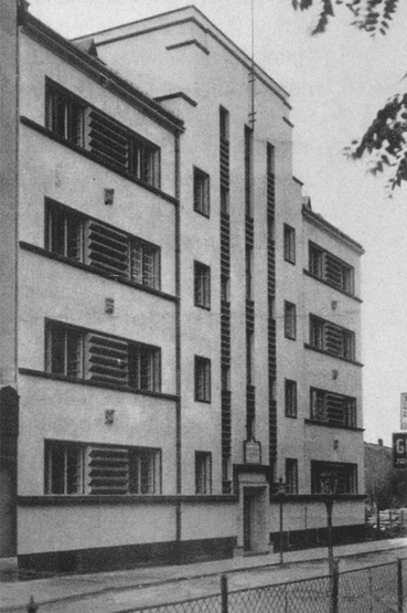 Debrecen, Vásáry István utca 6., bérház, 1932