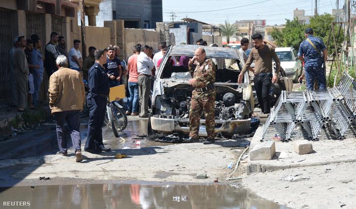 A támadás után Tikritben