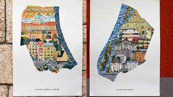 Káprázatos poszterekről köszönnek vissza budapesti kerületek jelképei
