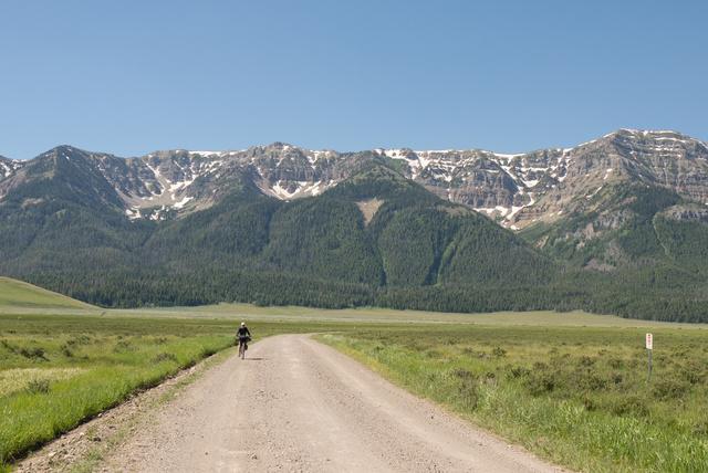 Bikepacking a Centennials-hegységben, Montana államban (USA)