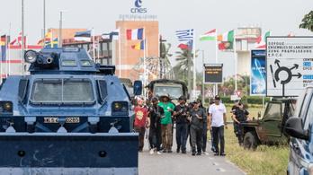 Tüntetések bénítják meg Európa űrközpontját