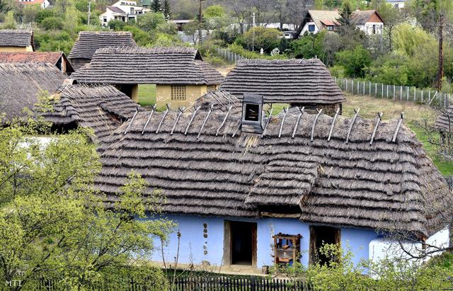 Az észak-magyarországi falvakat bemutató épületegyüttes a Skanzenben