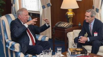 Trump tanácsadója és a washingtoni külügy is fogadta a CEU rektorát