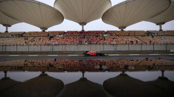 Nem lesz szombati F1-futam Kínában, minden marad a terv szerint