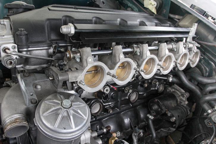 A legendás E36 M3 szívósor, ami nagyban segíti a tunerek munkáját