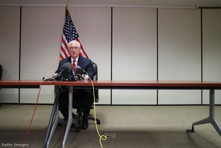 Rex Tillerson, aki április 11-12-e között utazik Moszkvába