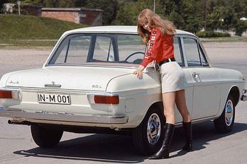 Mercedesnek indult az első modern Audi