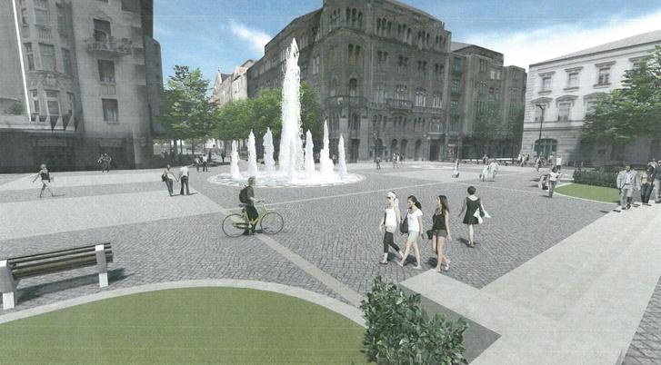 Terv a Bakáts tér átalakítására