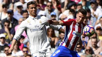 Őrületes mentéssel akasztotta ki Ronaldót az Atletico Madrid védője