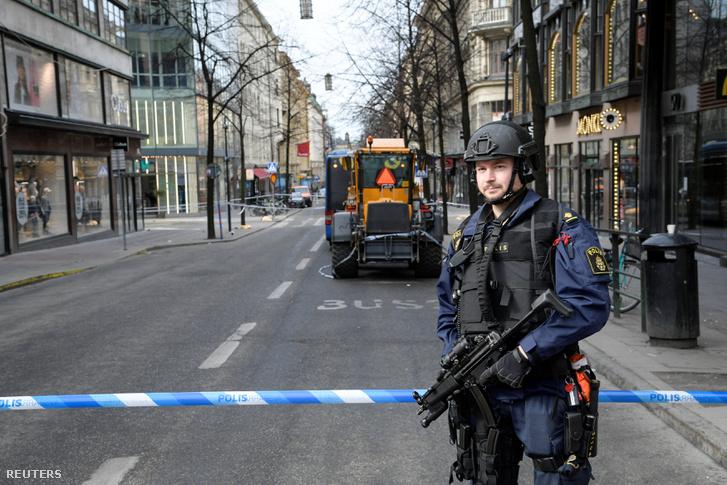 A támadás helyszínét lezárták