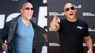 Cicaharc dúl Dwayne Johnson és Vin Diesel között