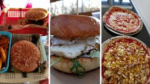 Van jó street food a belvároson kívül is?