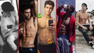 Még öt izmos modell, akikre érdemes kattintani!