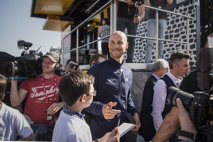 Tom Boonen a 2017-es Paris–Roubaix kerékpárversenyen