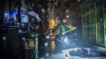 A drogellenes háború áldozatai az év Pulitzer-díjas fotós anyagában